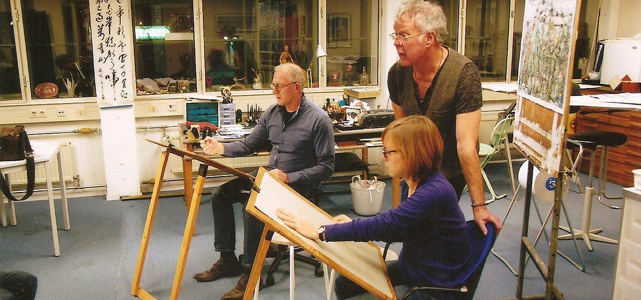 Transformatie Arnhem - Atelier en Tekenles